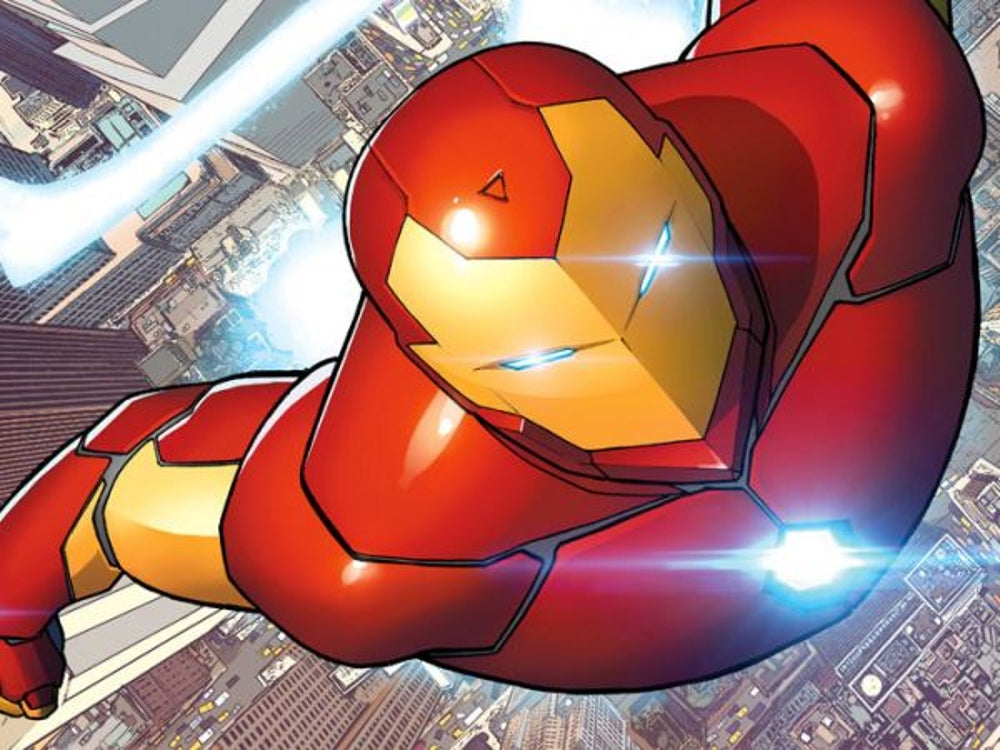 Iron Man: Keep up with the latest technology.