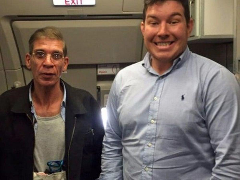 A man and a hijacker