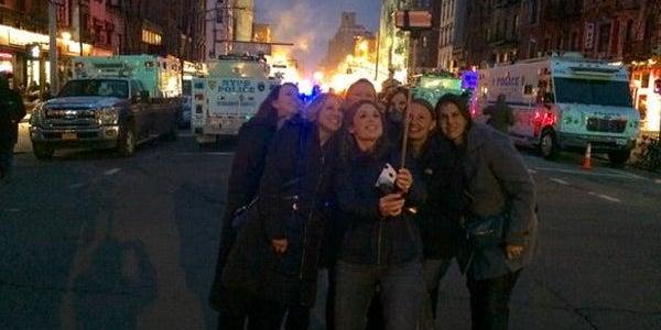 Gas leak selfies