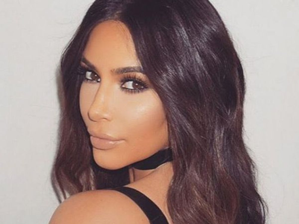 Kim K and a full-frontal view