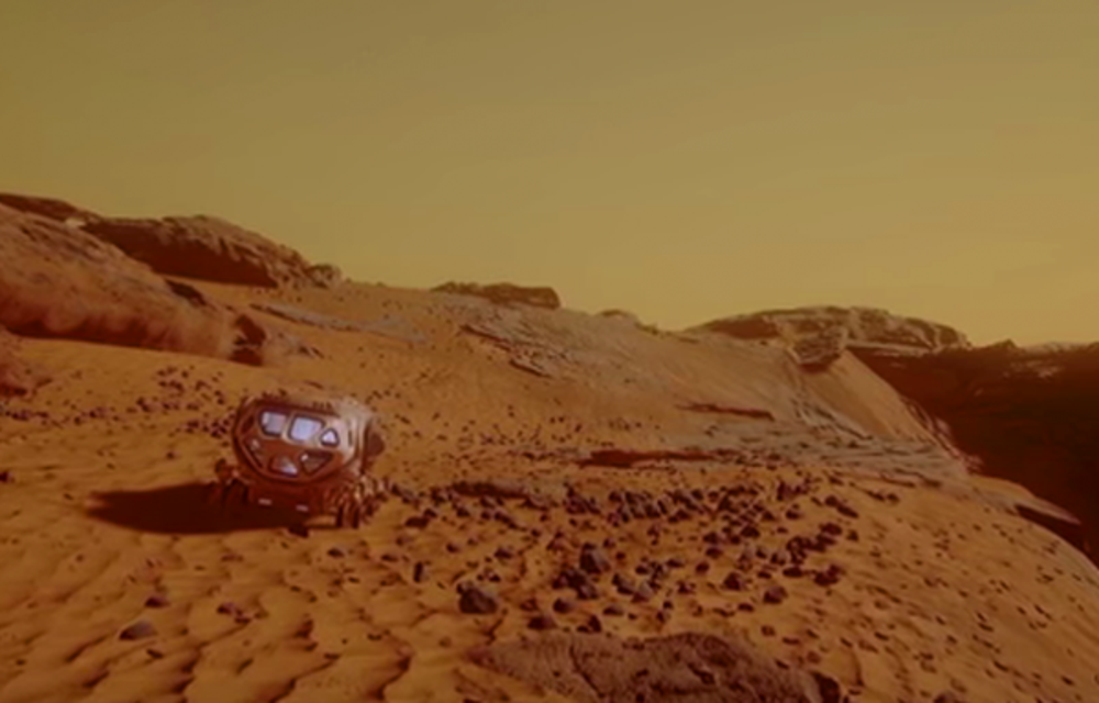 A virtual visit to Mars