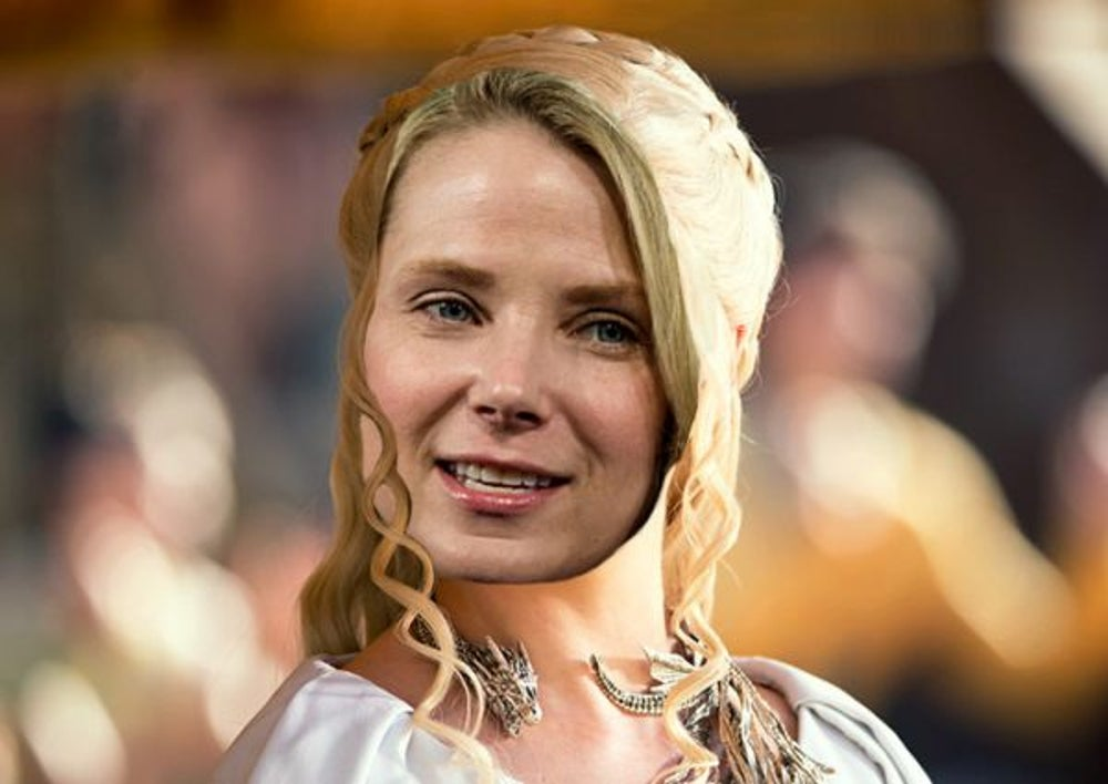 3. Marissa Mayer as 'Daenerys Targaryen'