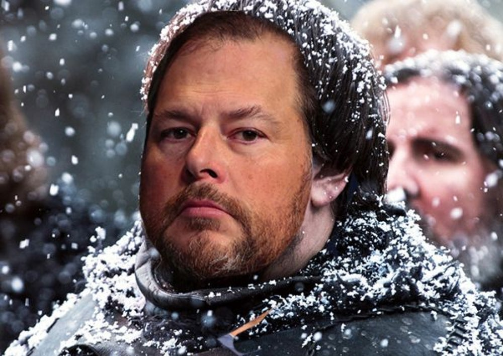 7. Marc Benioff as 'Samwell Tarly'