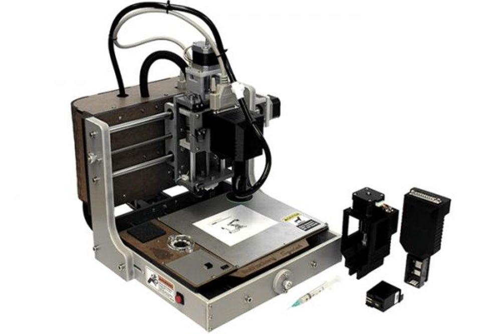 BOT Factory 3-D printers make it affordable and efficient to manufacture circuit boards.