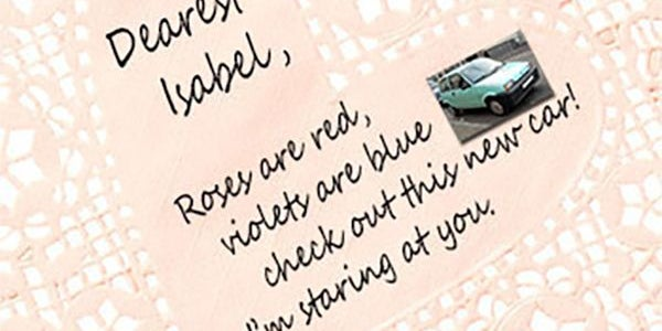 5. Italian car maker writes creepy letters to Spanish women