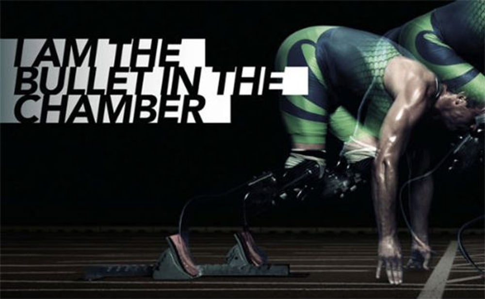 BONUS: Nike's ad with Oscar Pistorius with a gun metaphor