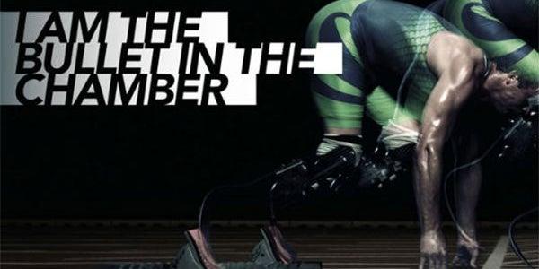BONUS: Nike's ad with Oscar Pistorius with a gun metaphor