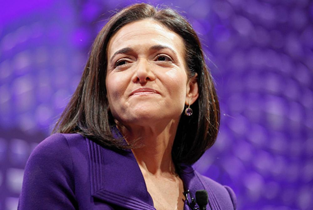 1. Sheryl Sandberg