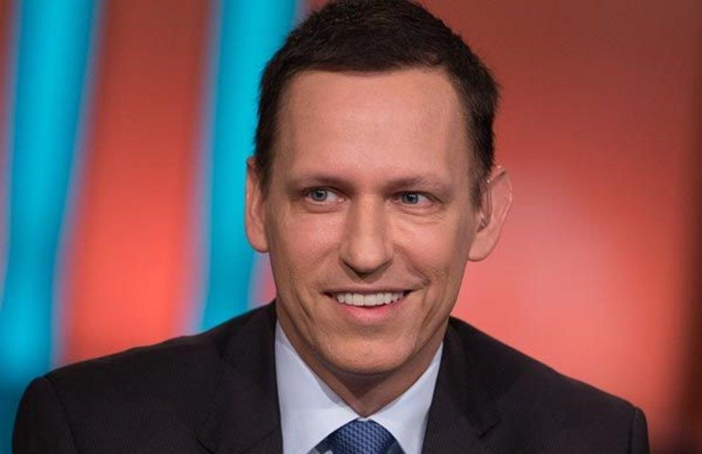 10. Peter Thiel