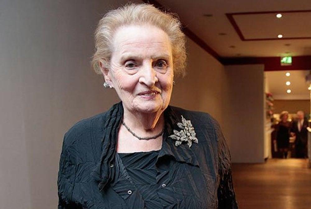 14. Madeleine Albright