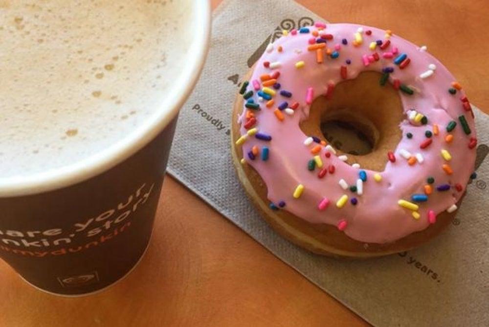 1. Dunkin' Donuts