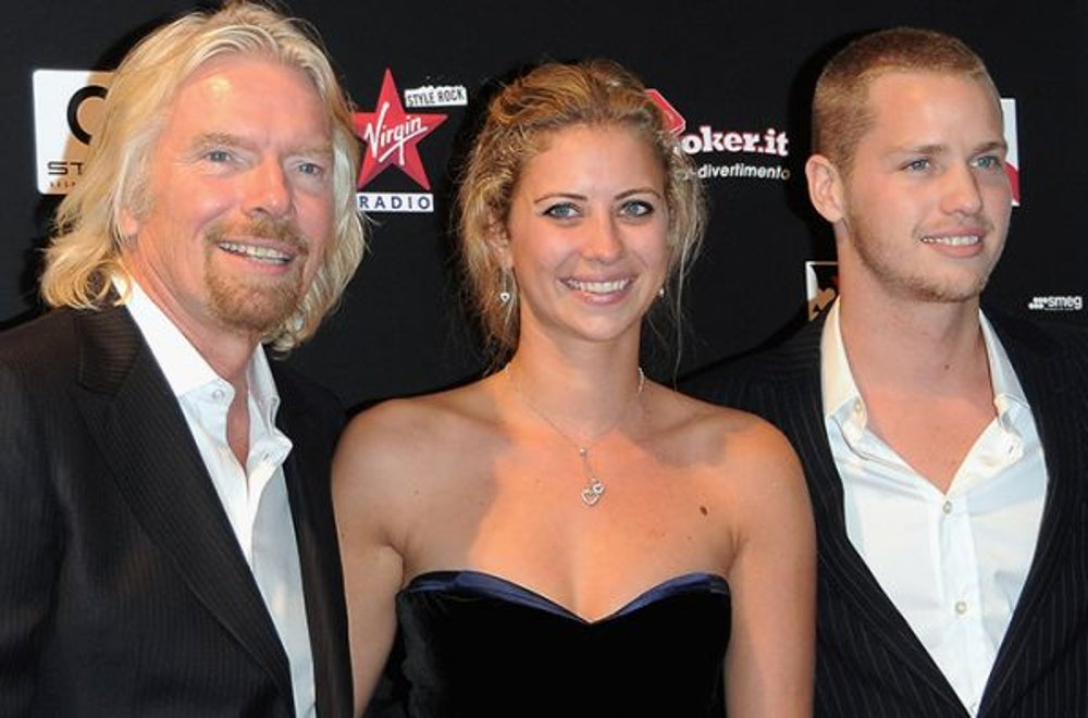 Richard Branson: Success in business is really important -- but family is first