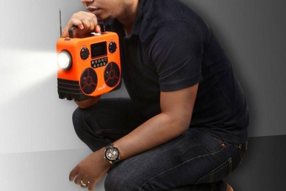 4. Solar power radio
