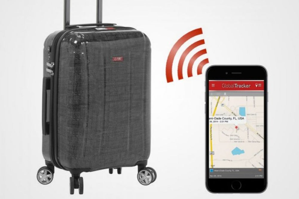 7. Smart luggage tracker