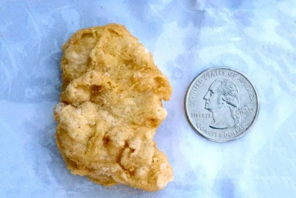 A chicken nugget was once sold on eBay for $8,100.