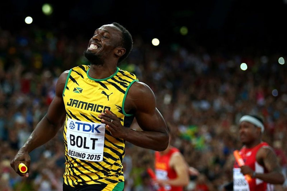 Usain Bolt ate 1,000 chicken nuggets during the 2008 Beijing Olympics.