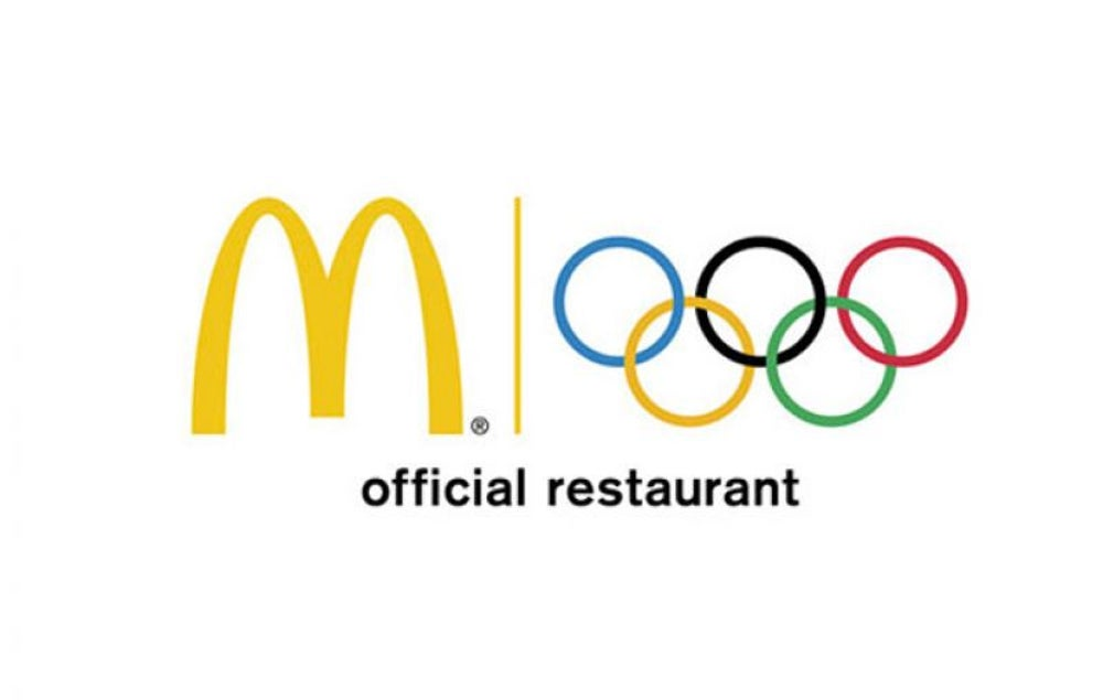 McDonald's airlifted burgers to homesick athletes during the 1968 Olympics.