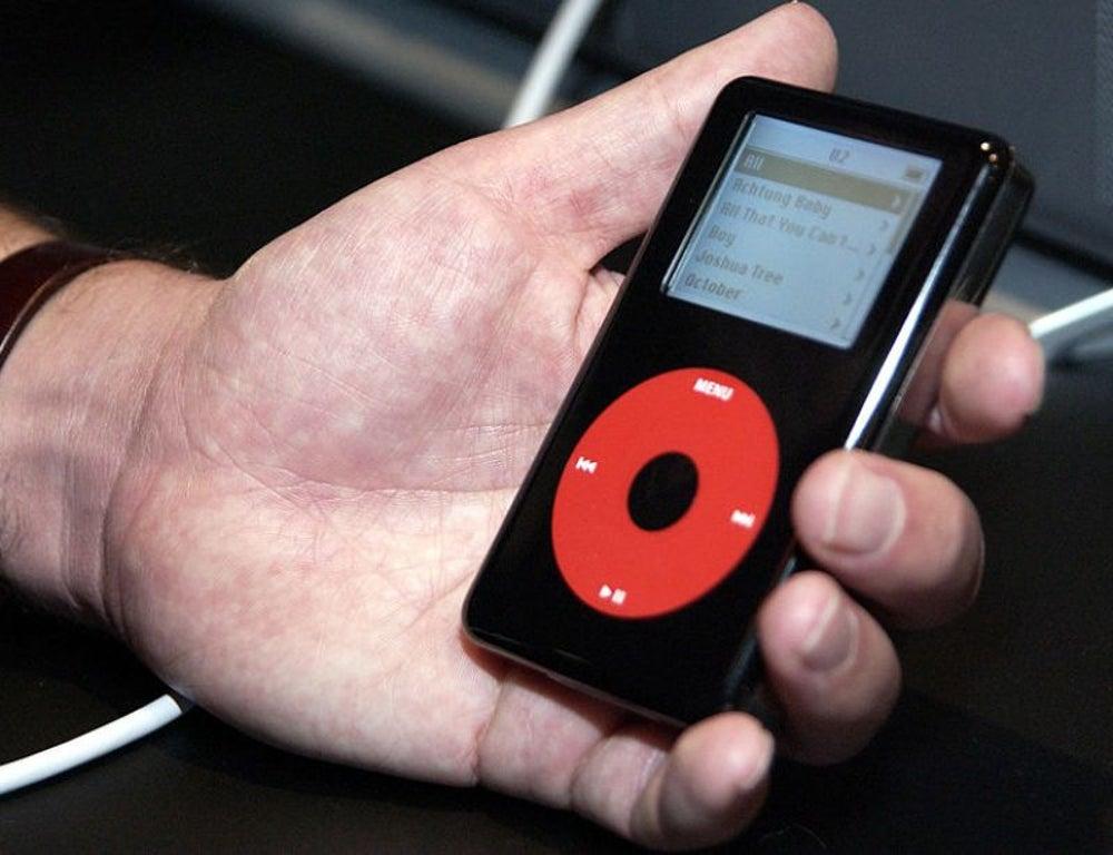 2. iPod classic