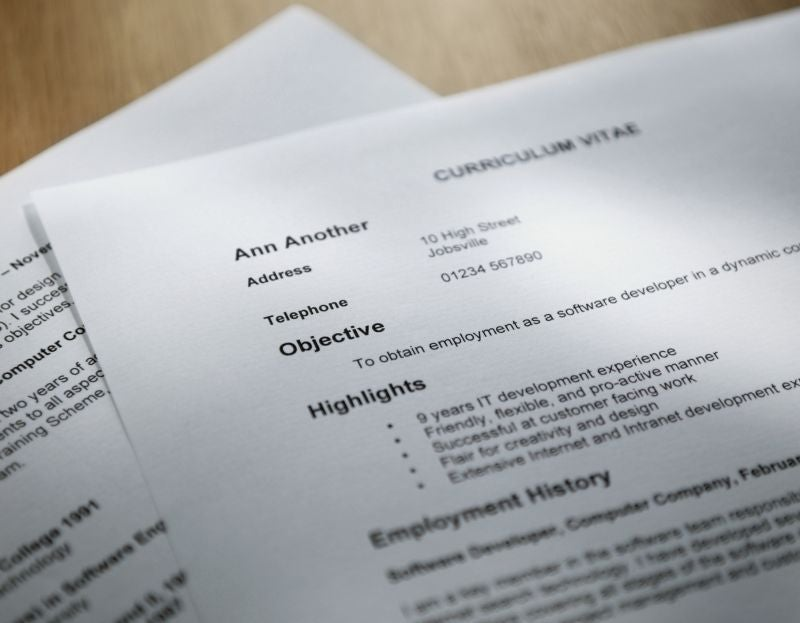 Résumé Writing Service
