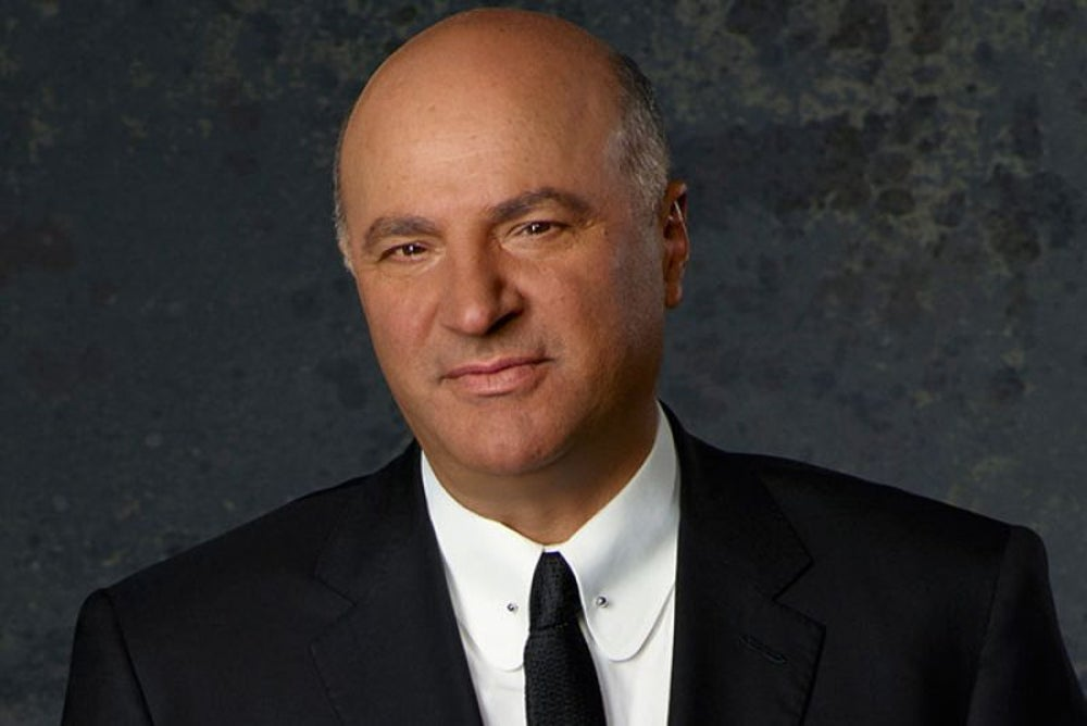 Kevin O'Leary: Work for yourself and work like a dog.