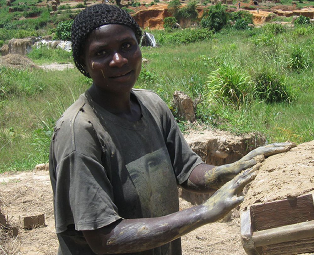 Josephine Nassiwa, Proud Woman Brick-Maker