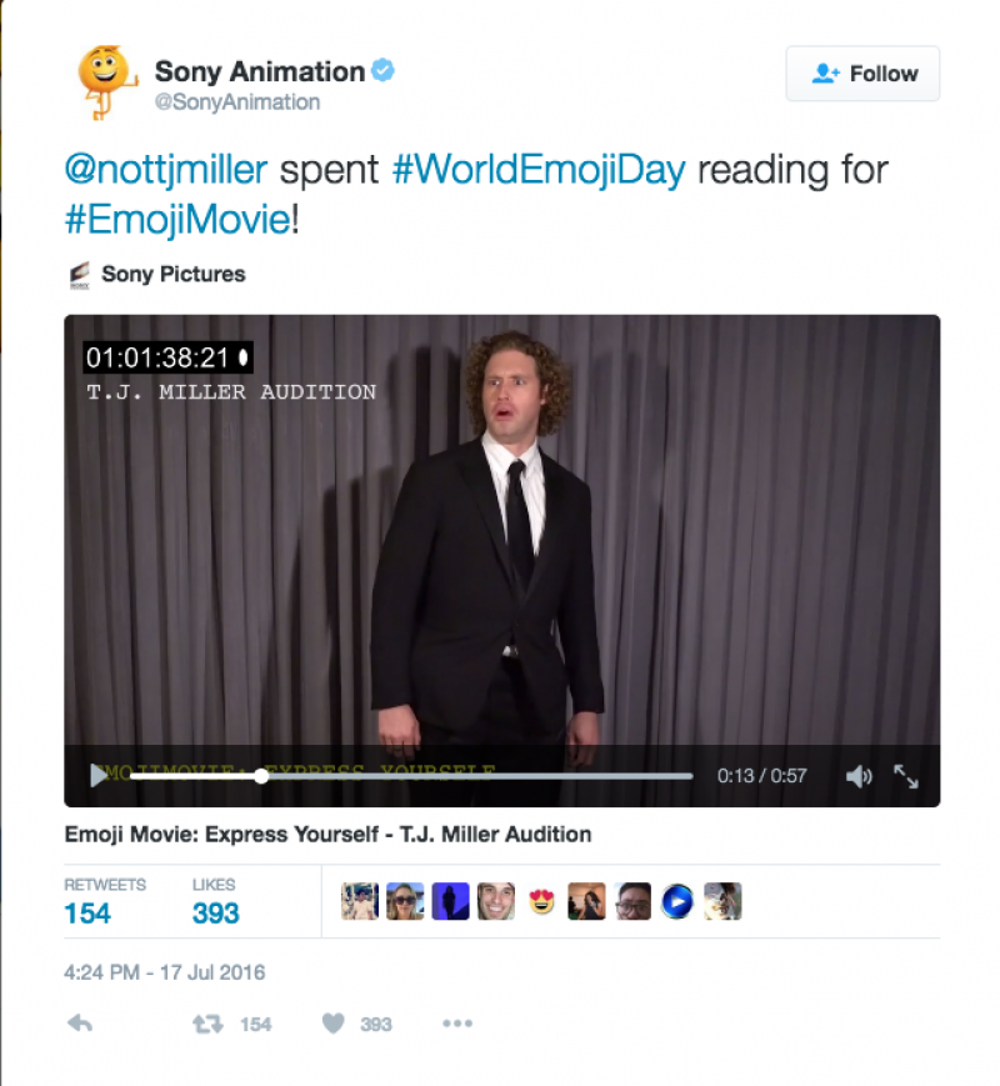Sony: A human emoji audition