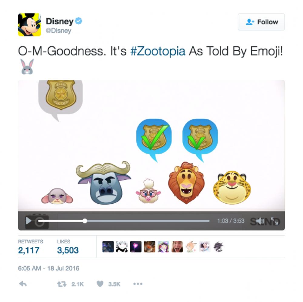 Disney: Emoji Zootopia