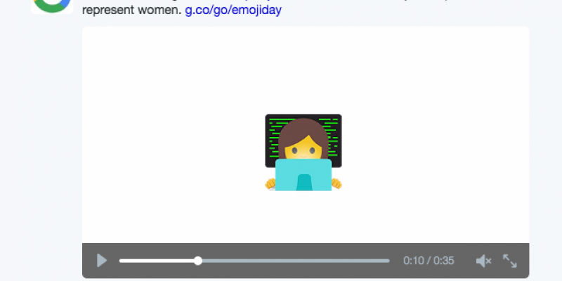 Google: Support for the ladies