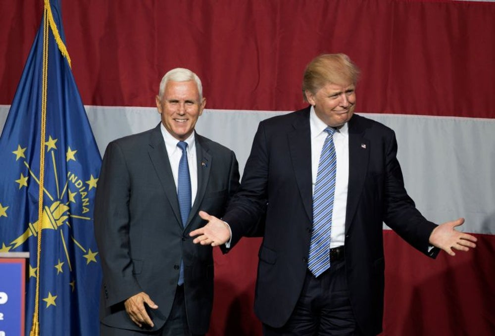 11. Donald Trump and Mike Pence