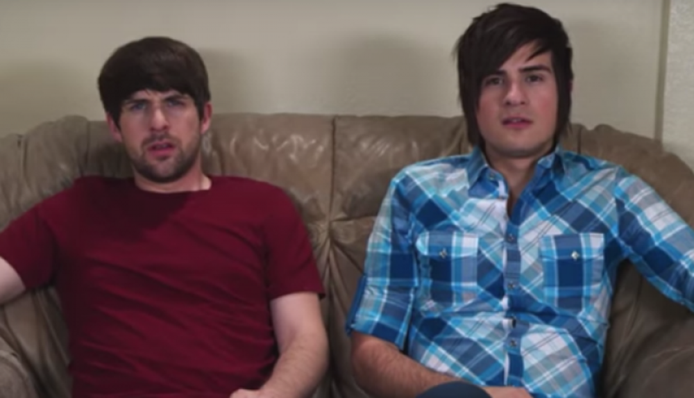 Ian Hecox and Anthony Padilla (aka Smosh)