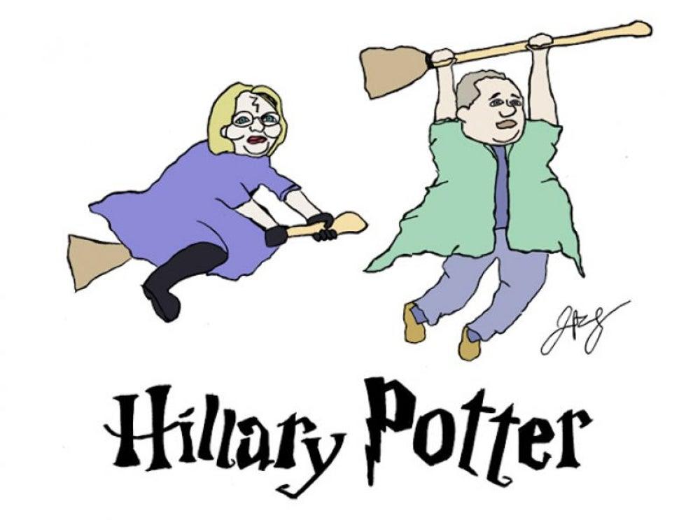 12. Hillary Clinton and Tim Kaine