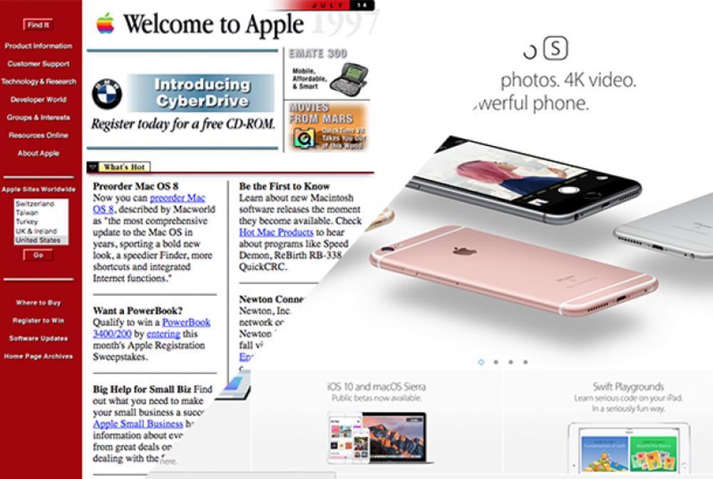 1997: Apple