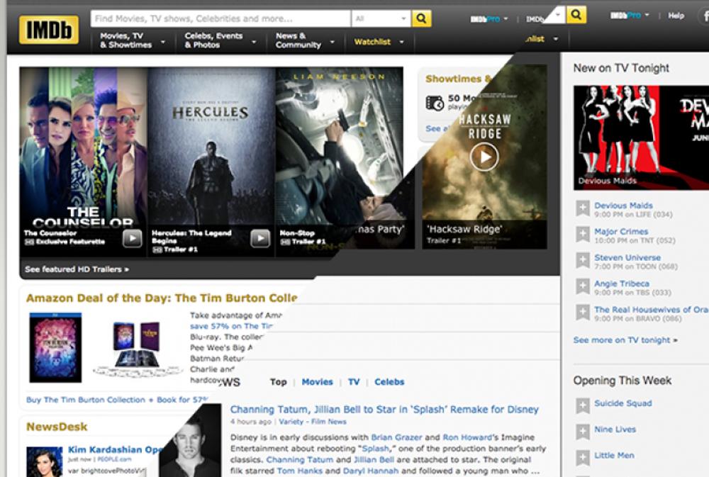 2013: IMDb