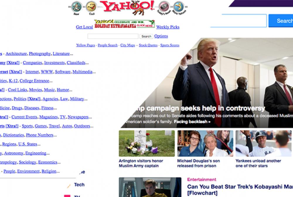 1996: Yahoo