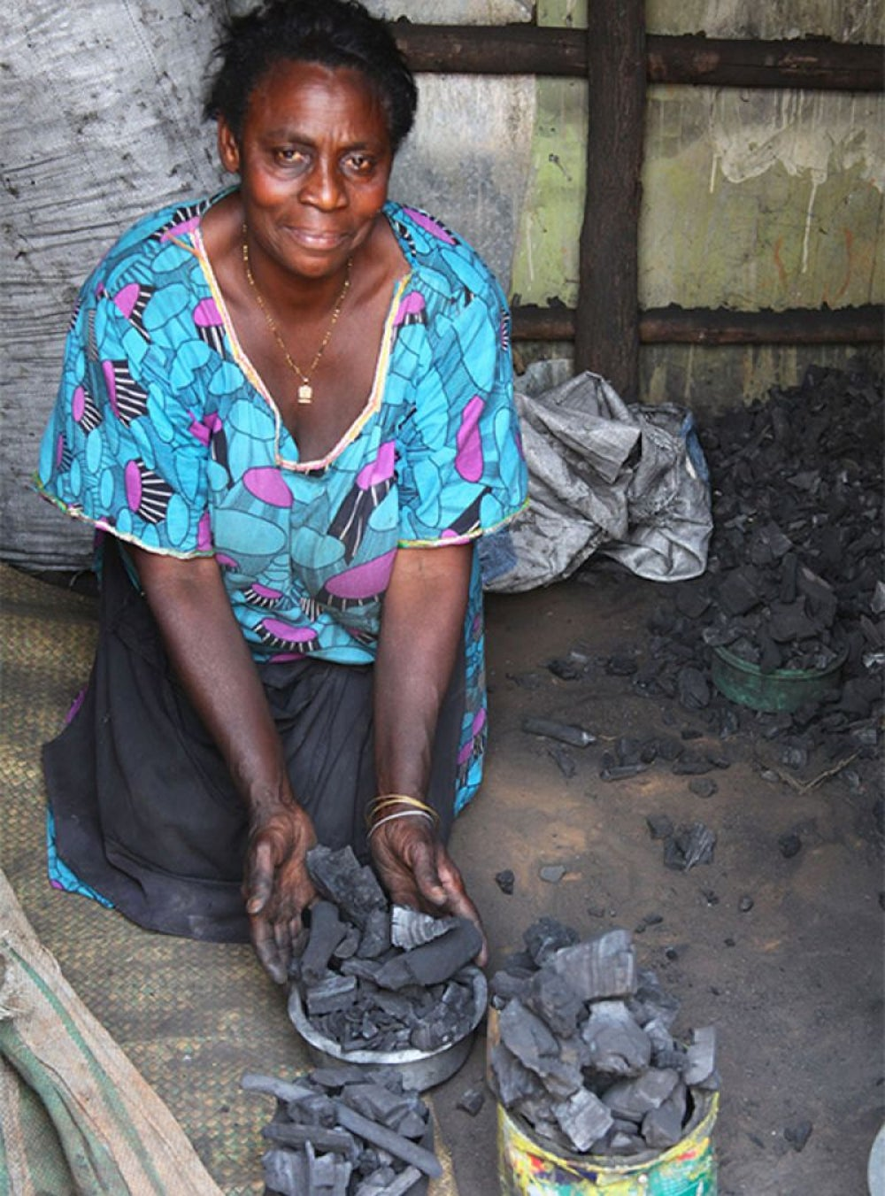 Rose Nakalema, 'Front-Door' Entrepreneur in the Charcoal Business