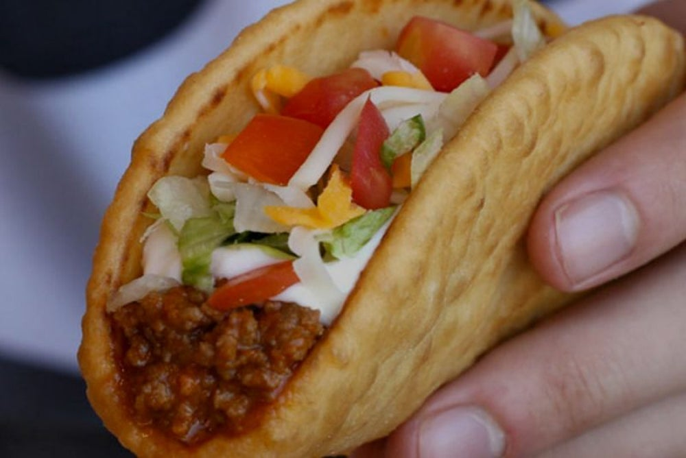 Taco Bell's beef contains 88 percent beef.