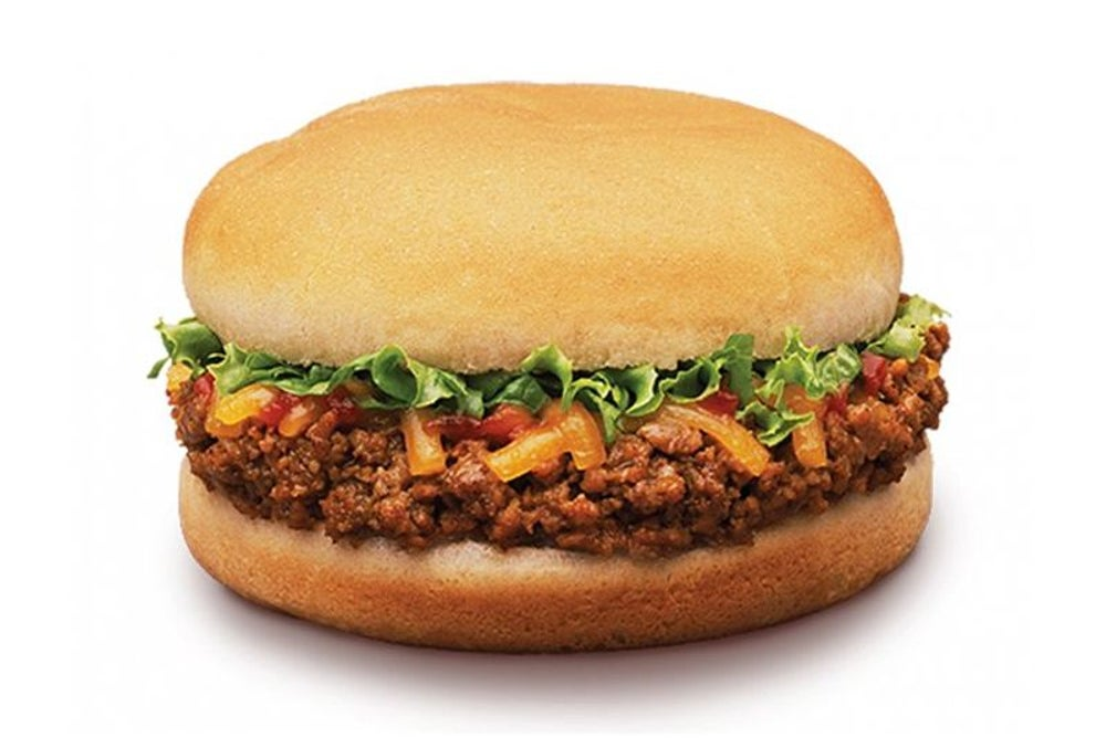 Taco Bell's original menu offered chiliburgers.