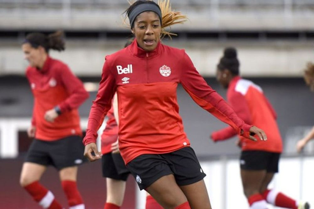 3. Ashley Lawrence, Canada, Women's Soccer Player