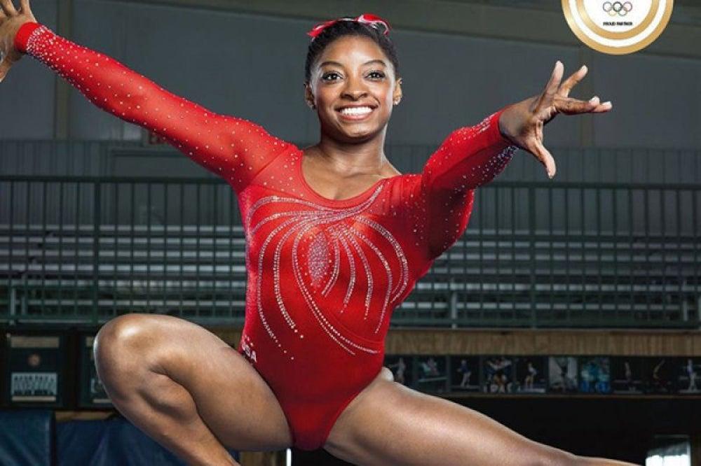 6. Simone Biles, USA, Women's Gymnastics
