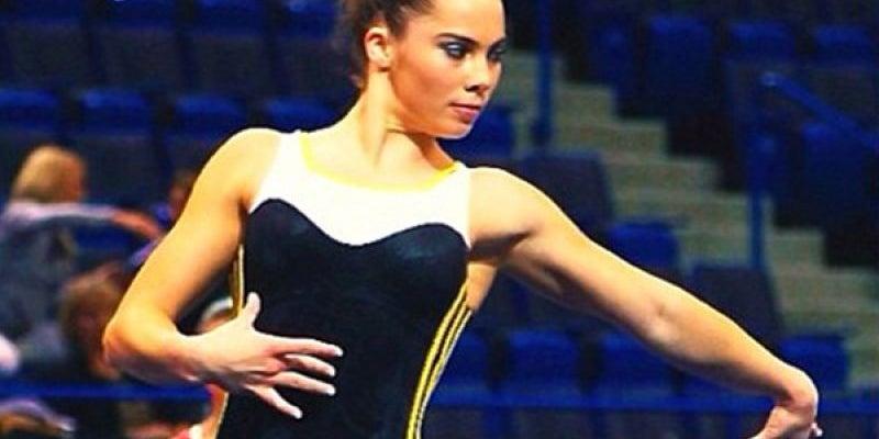 9. McKayla Maroney , USA, Female Gymnast