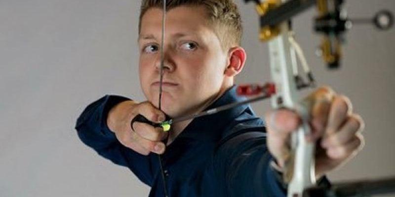 11. Sjef van den Berg, Netherlands, Archery