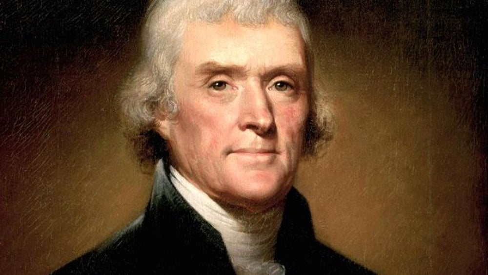 Thomas Jefferson (1801-1809) $212 million