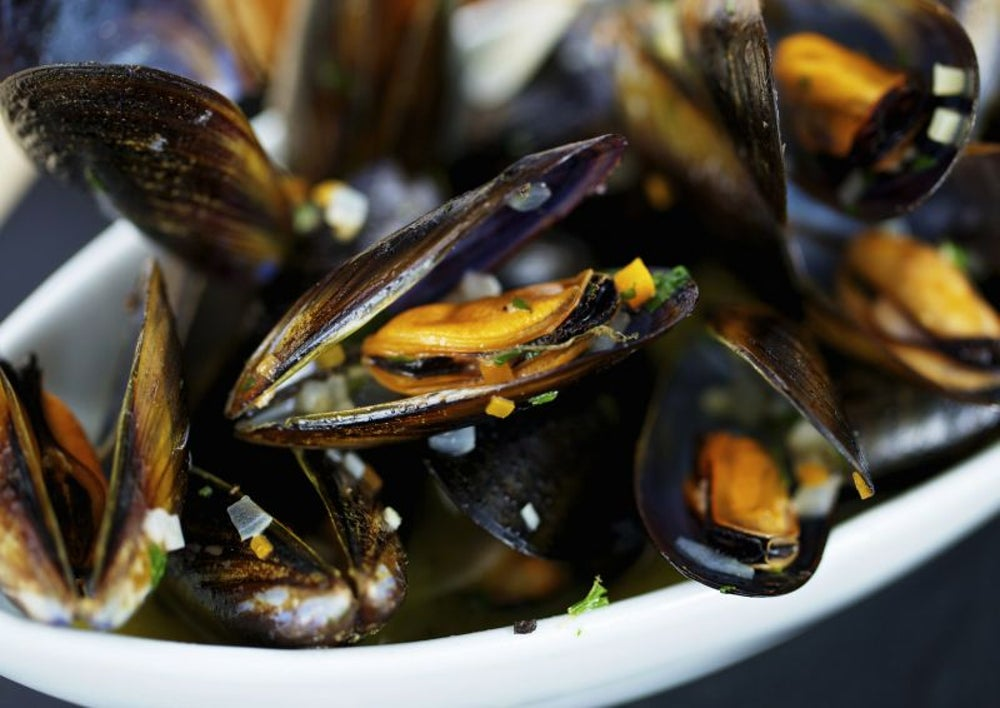 10. Mussels