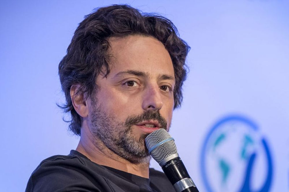 Sergey Brin, Google co-founder