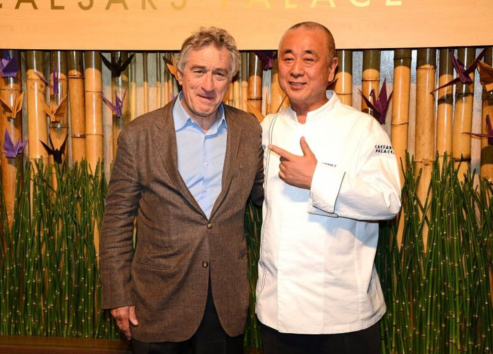 Robert De Niro, Nobu Restaurants