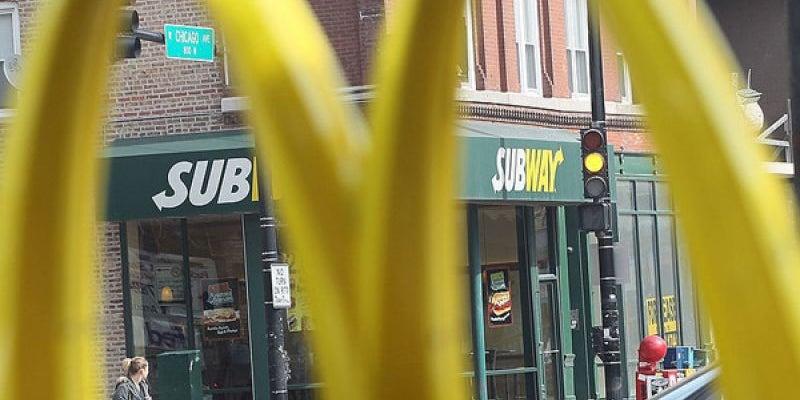 Subway has more restaurants than McDonald's.