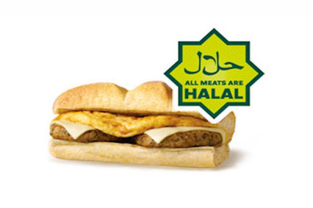 Subway replaced ham and bacon with halal meat at some locations.