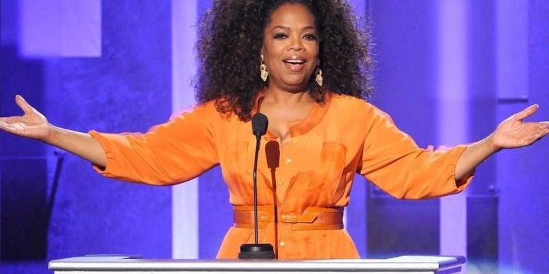 Oprah Winfrey worked at a corner grocery store.