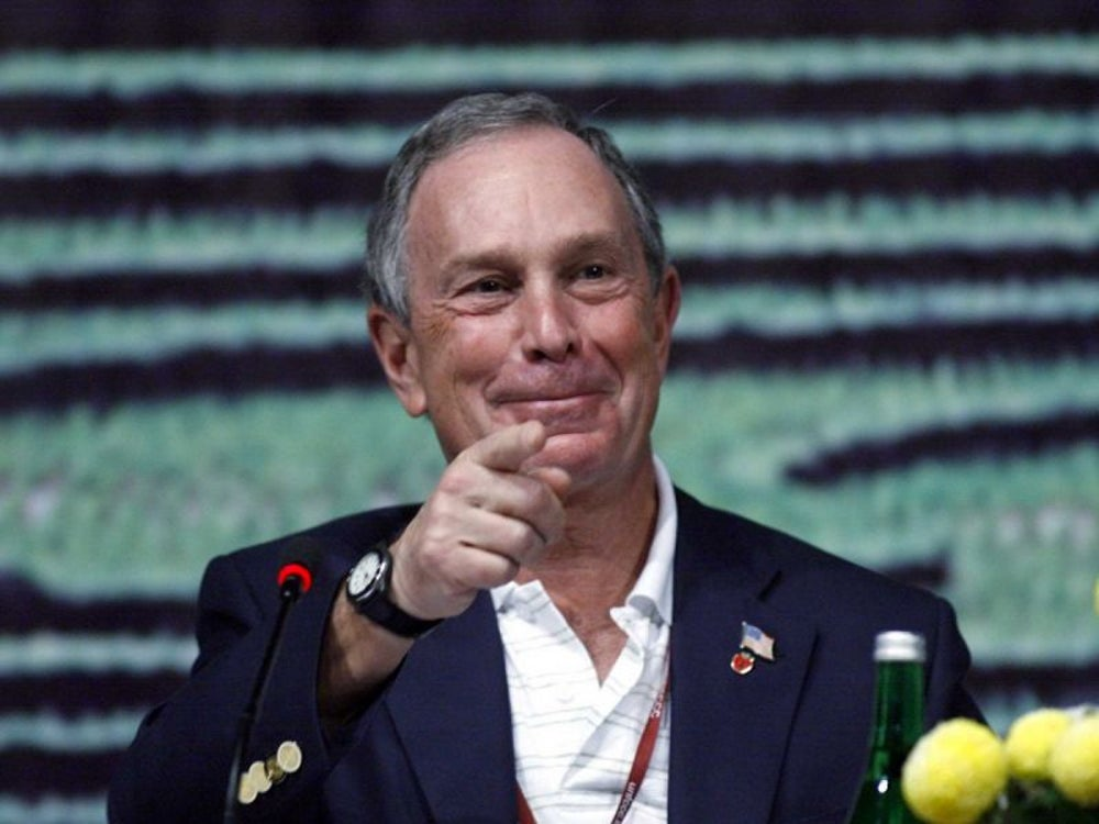 Michael Bloomberg was a parking-lot attendant.