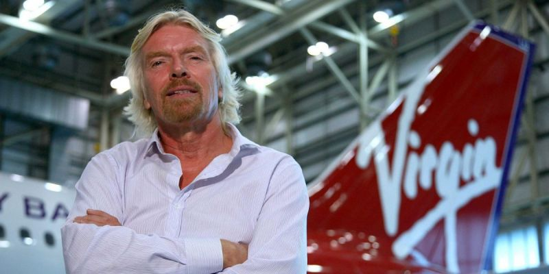 Richard Branson: Never look back in regret -- move on to the next thing.